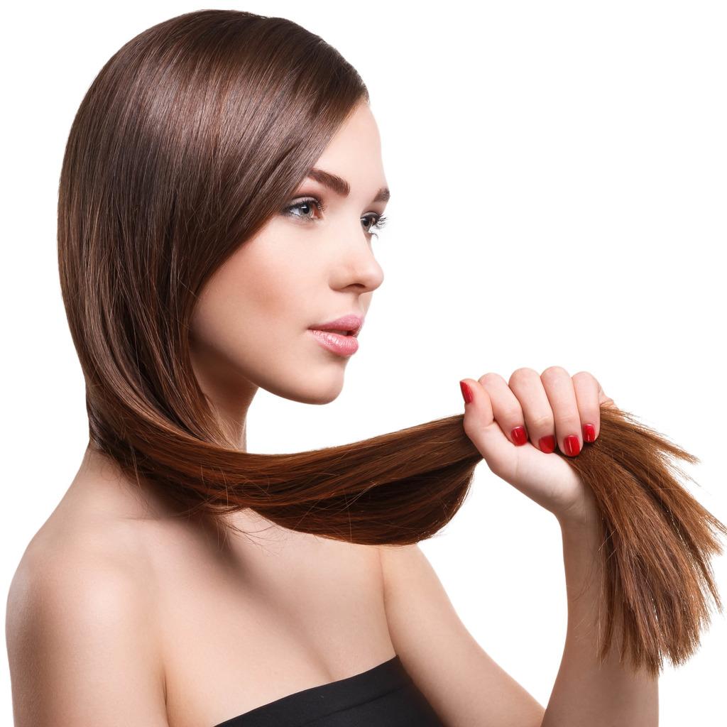 Natürliche Haarspitzen