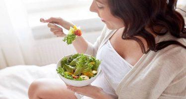 Während der Schwangerschaft gesund essen